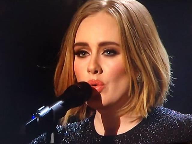 Imagens da cantora  Adele