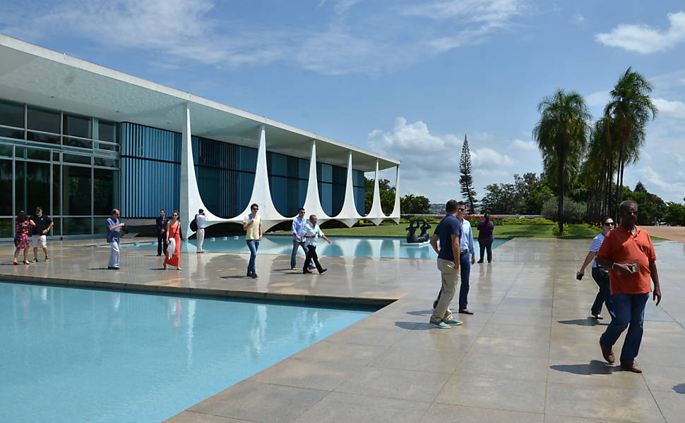 Take a Tour of the Planalto Palace in Brasília