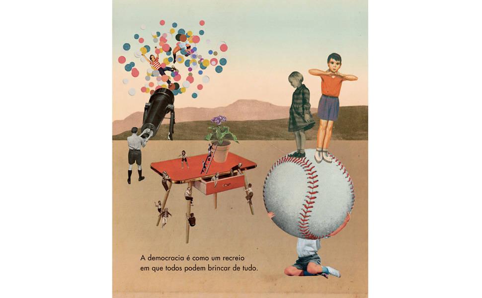 A política na coleção infantil 'Livros para o Amanhã'