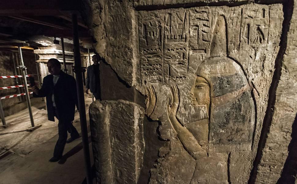 Tumba de ama-de-leite de Tutancamon é aberta no Egito
