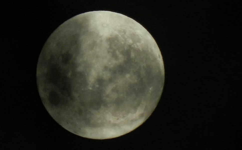Lua cheia na noite de Natal