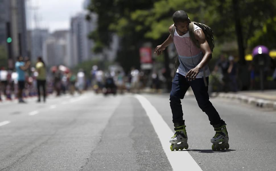 Domingo na avenida Paulista