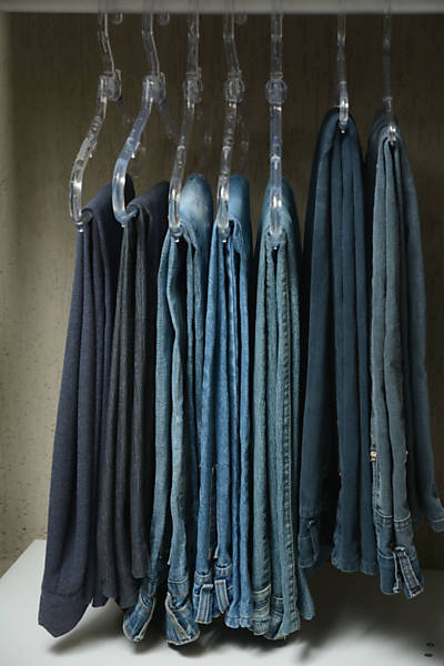 Guarda-roupa em ordem
