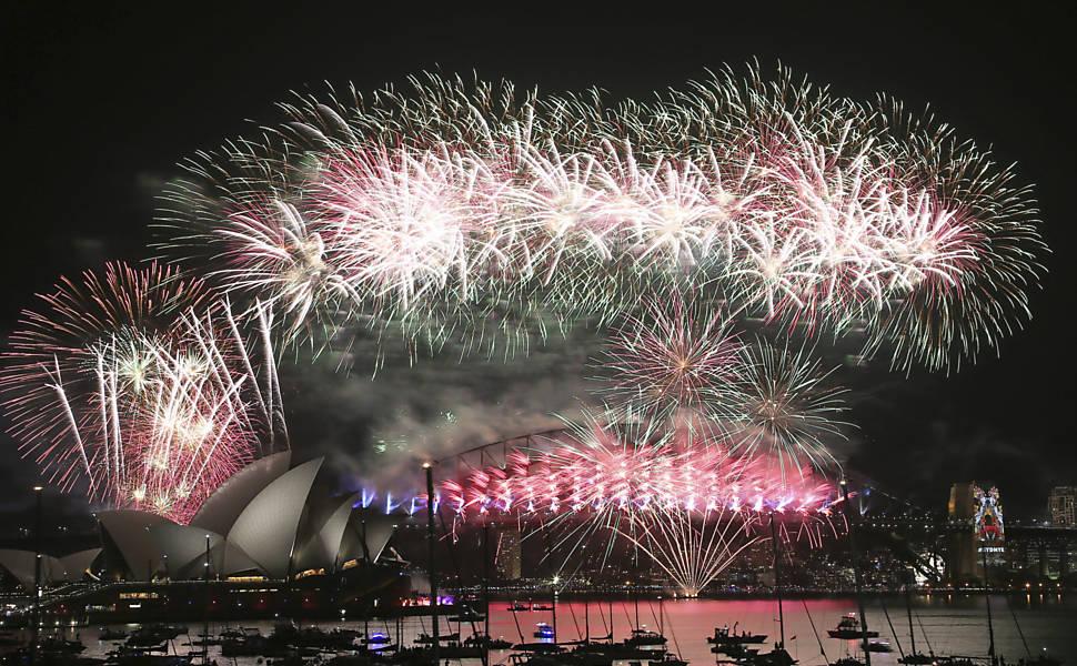 Ano-Novo Pelo Mundo