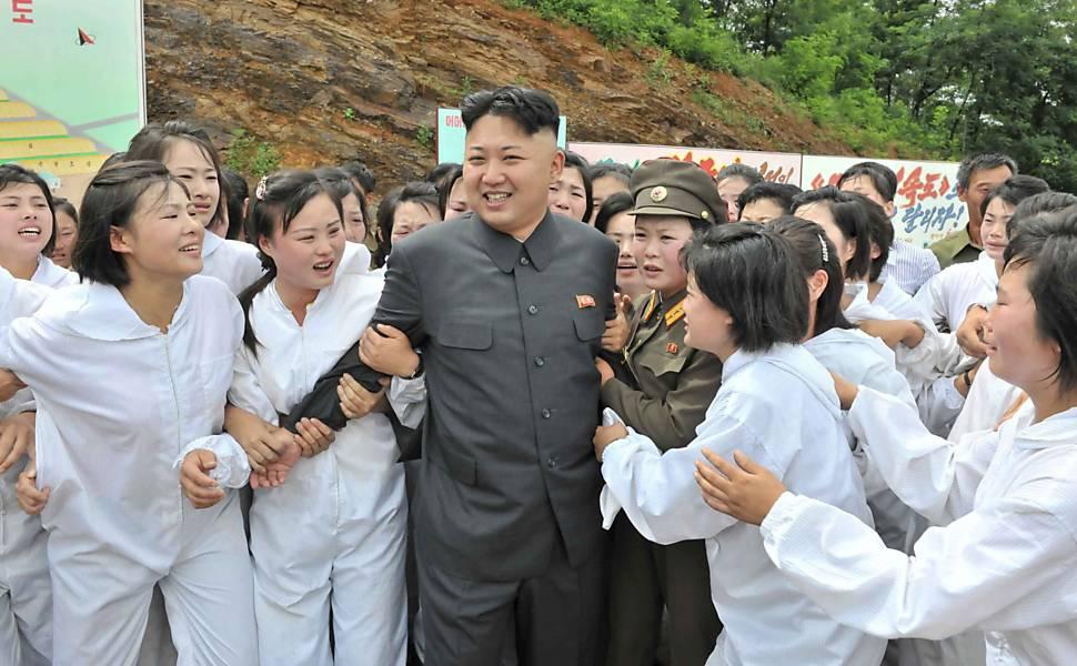 Cenas da Coreia do Norte