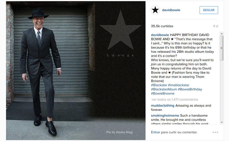 Veja imagens de David Bowie