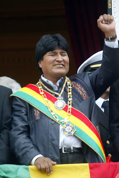 10 anos de Evo Morales