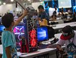 Computador modificado na Campus Party