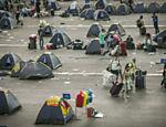 Campuseiros deixam o evento neste domingo (31), último dia da feira