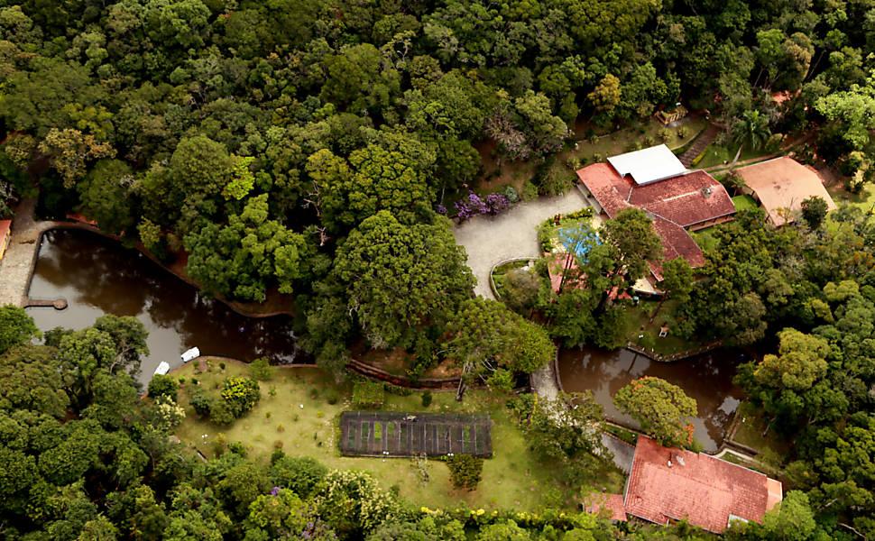 La finca frecuentada por Lula en Atibaia