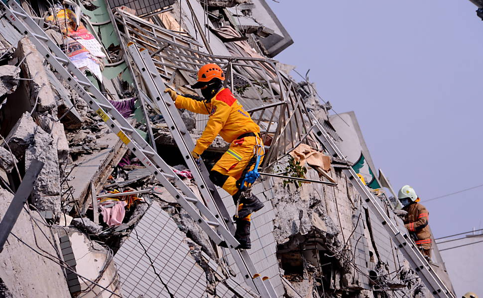 Terremoto em Taiwan