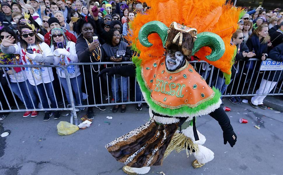 Mardi Gras, o Carnaval de New Orleans, nos EUA
