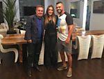 Casal Vitor Belfort e Joana Prado faz revelações a Gugu