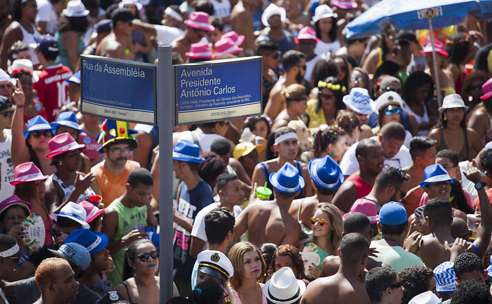 Bloco de rua no Rio