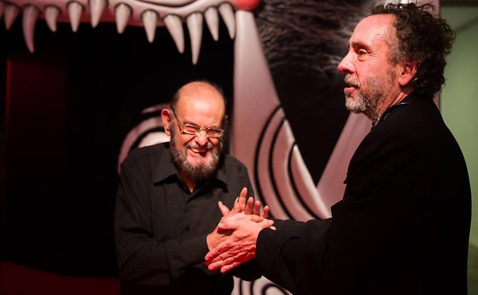 Tim Burton e Zé do Caixão