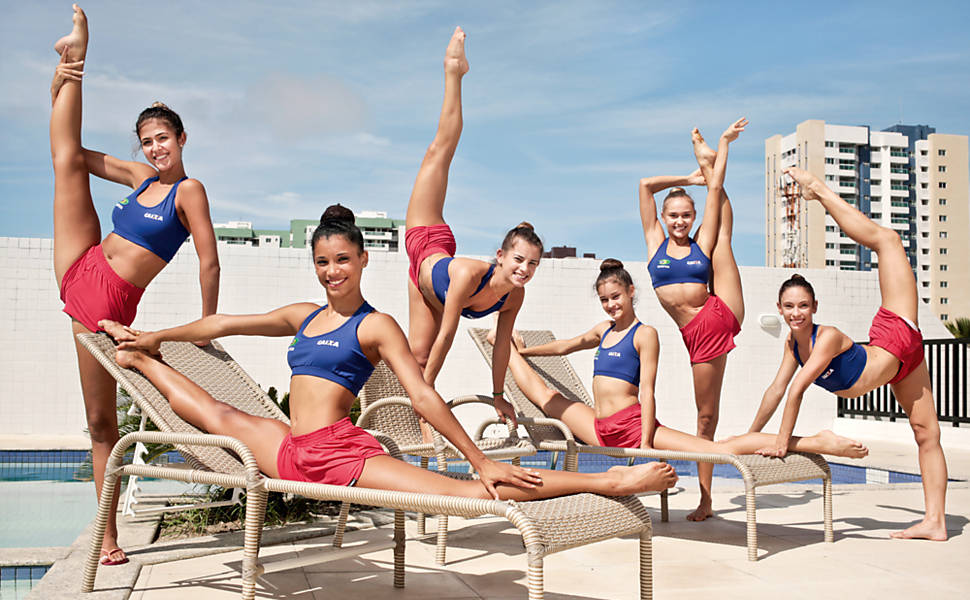 Ginastas olímpicas brasileiras