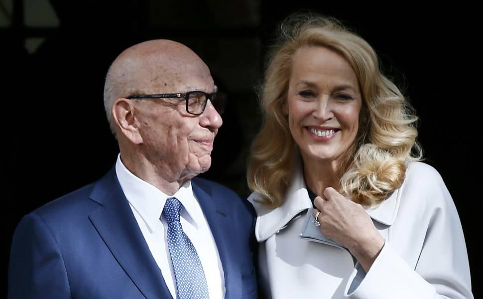 Magnata da mídia Rupert Murdoch