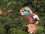 Imagens aéreas do sítio em Atibaia frequentado pelo ex presidente Luiz Inácio Lula da Silva e um dos alvos da Operação Lava Jato