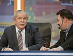 Em 31 de maio de 2012, Lula esteve presente no Programa do Ratinho, em sua primeira aparição na televisão após a descoberta de um câncer. Na ocasião, Lula disse que a única possibilidade de ele ser candidato presidencial em 2014 era se Dilma não quisesse se reeleger. Informou também que estava fazendo duas horas por dia de fisioterapia.