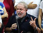 Após depor na PF, o ex-presidente Lula realizou coletiva de imprensa no diretório do PT em São Paulo (SP)