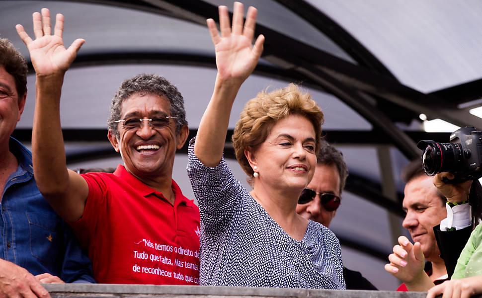 Manifestação em apoio a Lula em São Bernardo do Campo