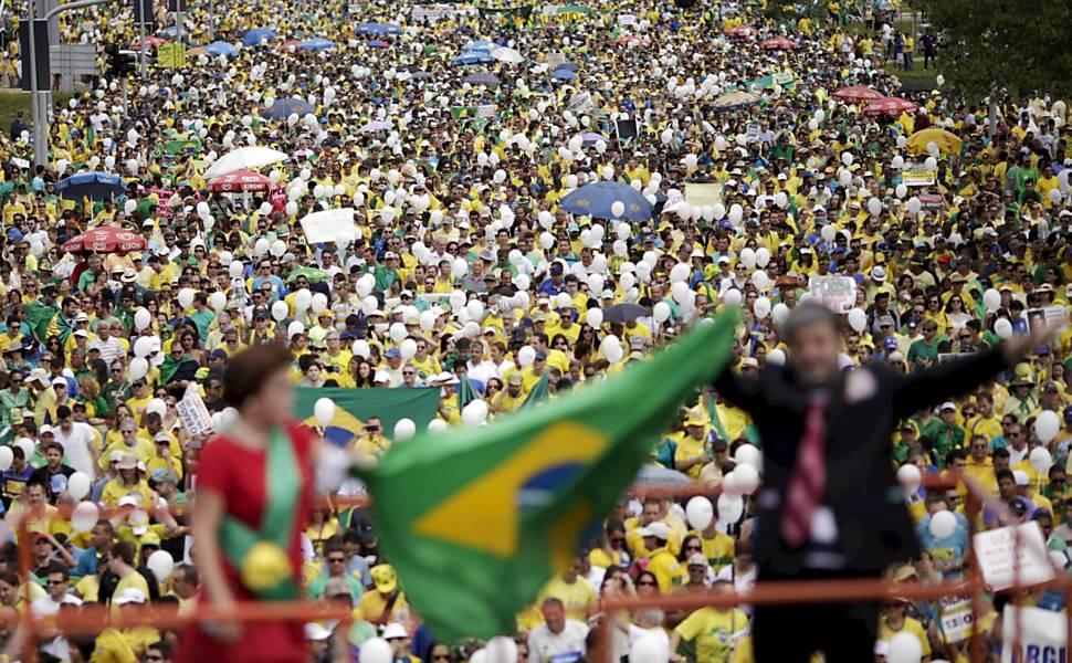 Manifestação contra o governo - Brasília