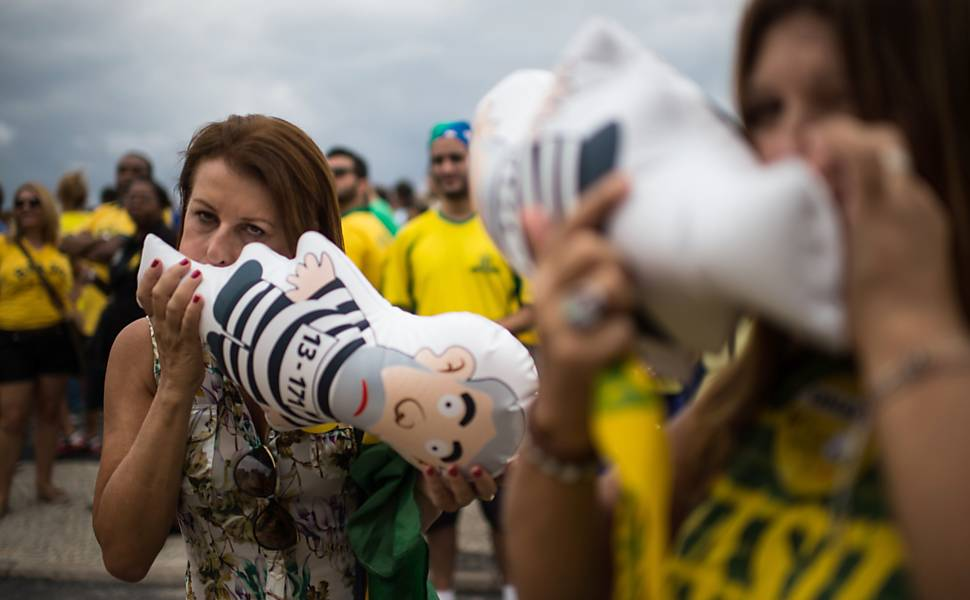 Manifestação contra o governo - Rio de Janeiro