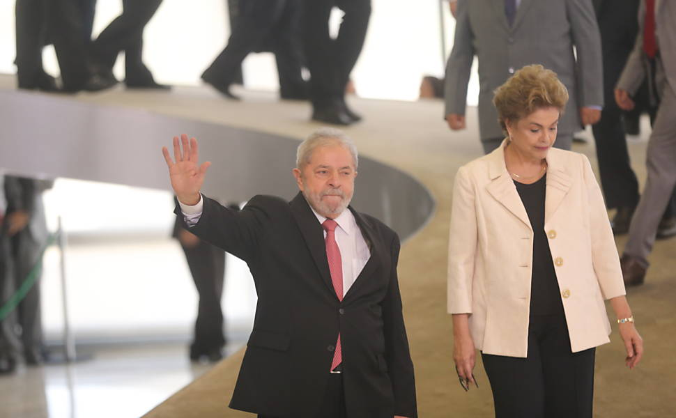 Lula nomeado ministro da Casa Civil, em 2016
