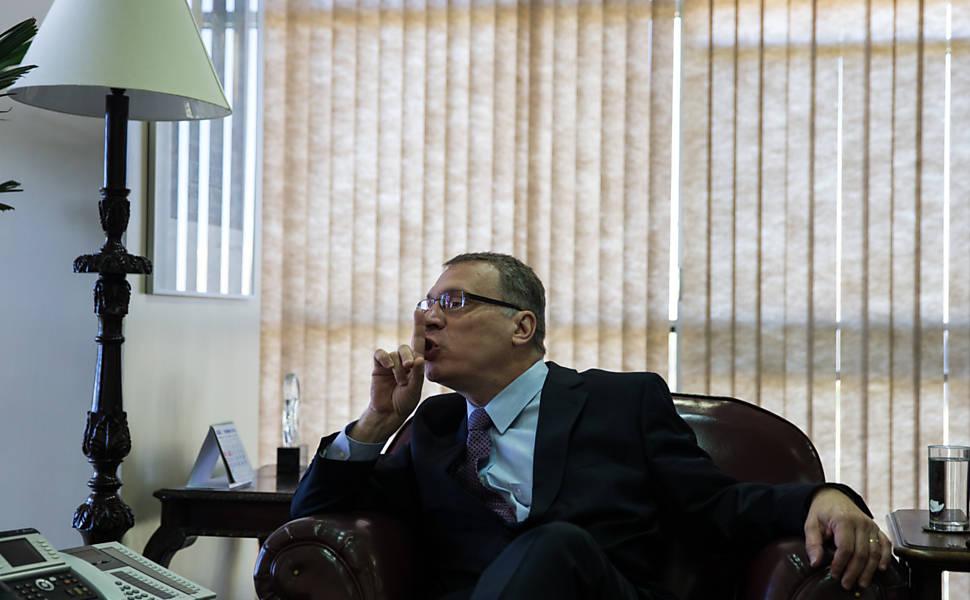 Ministro da Justiça Eugênio Aragão