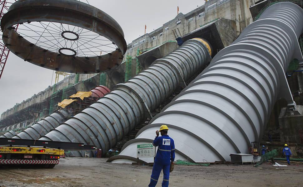 Usina de Belo Monte, em Altamira (PA)