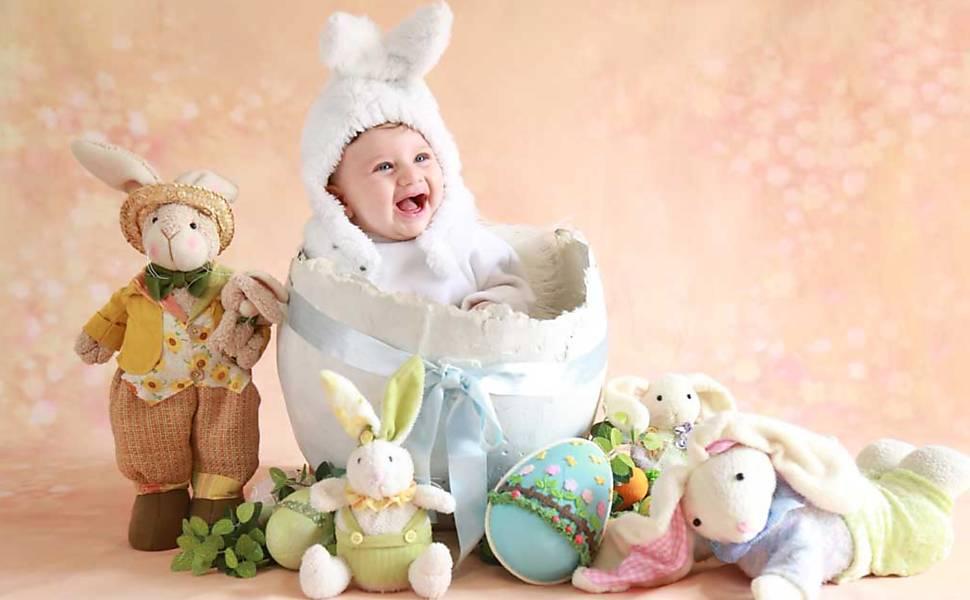Bebês de Páscoa