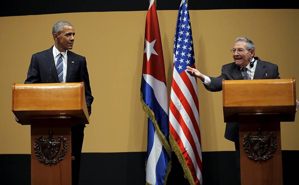 Obama em Cuba