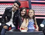 Wagner Barreto, 15, Pérola Crepaldi, 11, e Rafa Gomes, 10, finalistas do