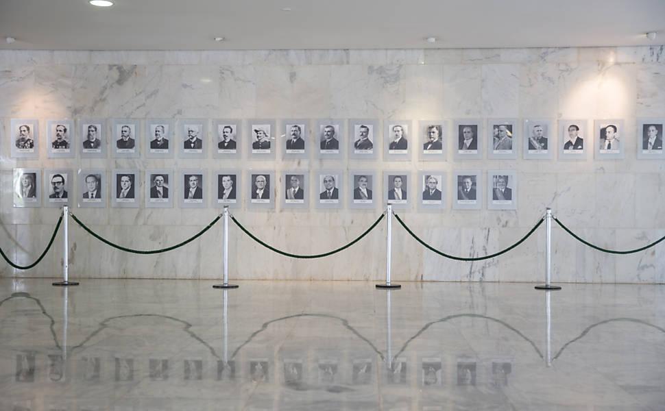 Galeria de presidentes sem Dilma Rousseff