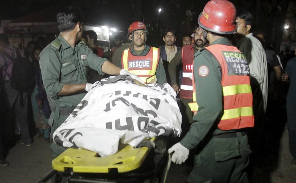 Explosão no Paquistão