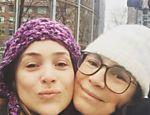 Regina Duarte visita a filha Gabriela em Nova York