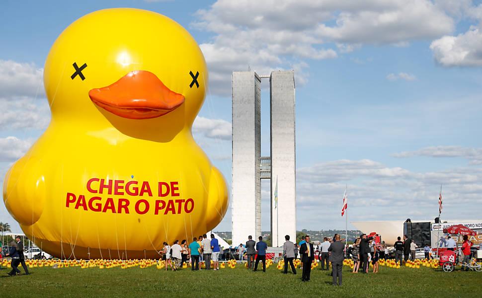 Não vou pagar o pato - campanha contra CPMF