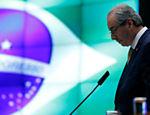 O presidente da câmara dos deputados Eduardo Cunha (PMDB-RJ) participa de evento com presidentes de assembleias legislativas de países de língua portuguesa, no salão nobre da câmara