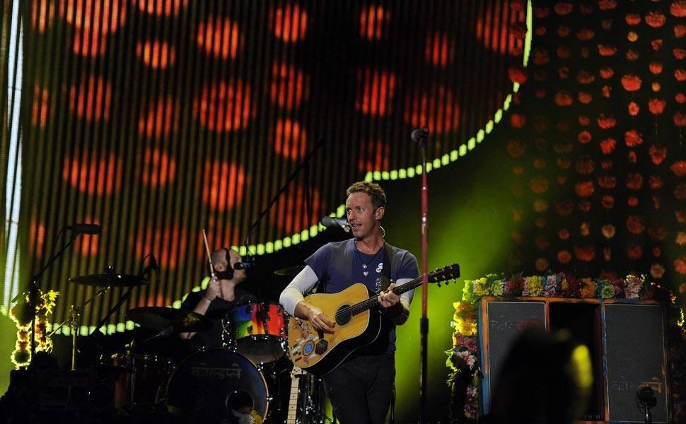 Show de Coldplay no Maracanã