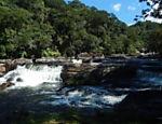 Cachoeira do rio Paraibuna, no parque estadual da Serra do Mar