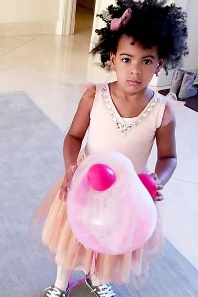 Aniversário da Blue Ivy, filha de Beyonce