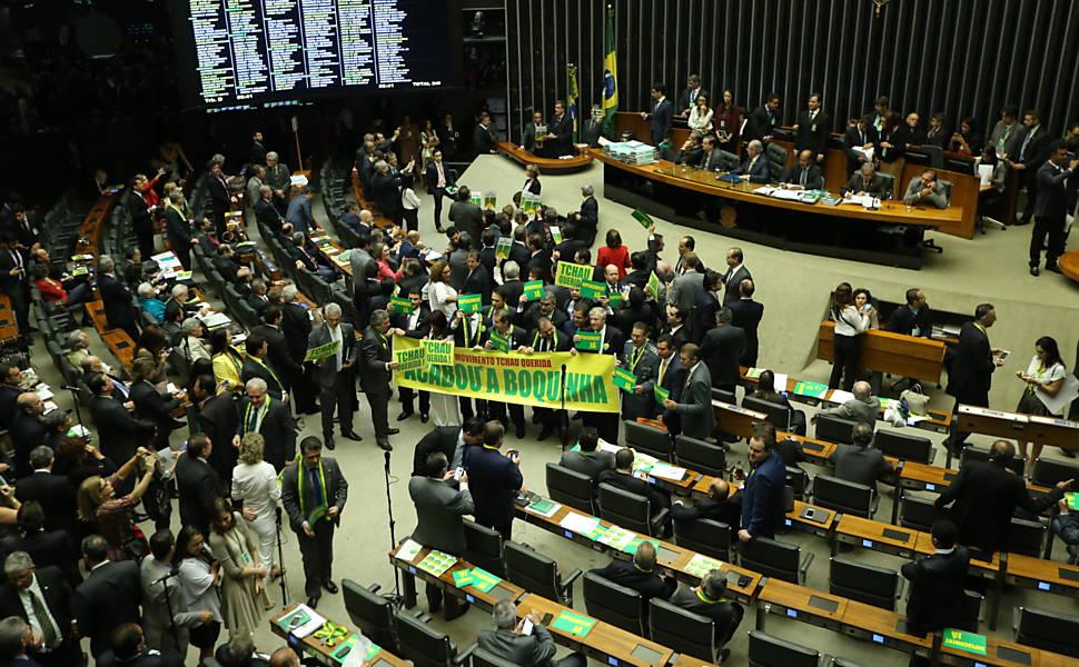Votação do impeachment da presidente Dilma Rousseff
