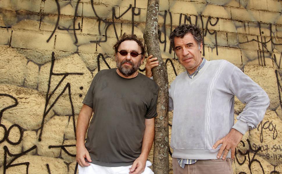 Paulo Betti e Alain Fresnot