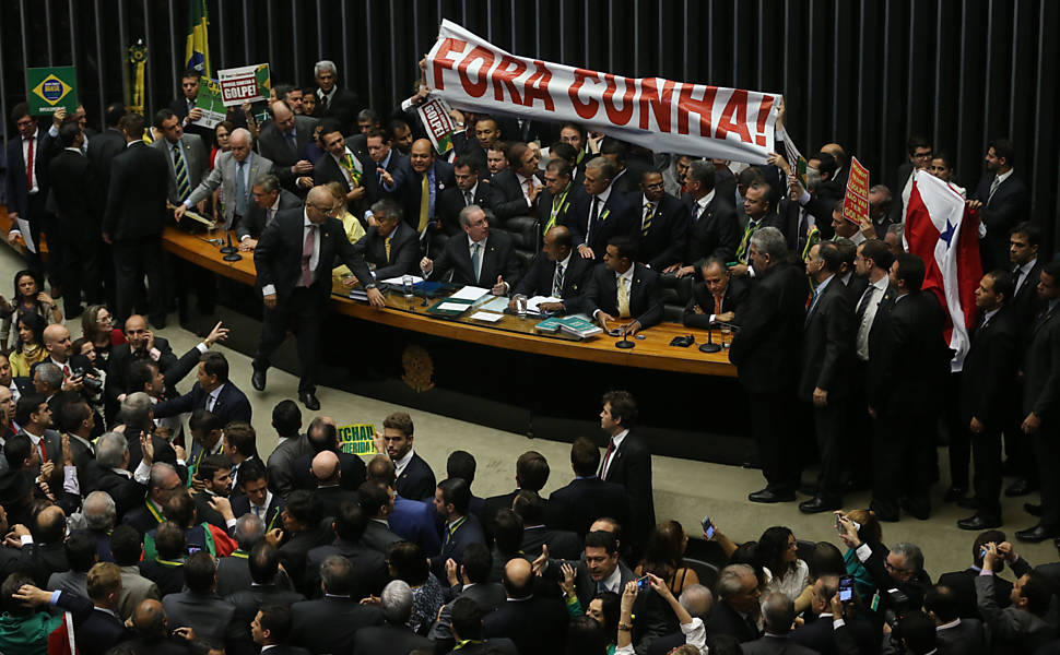 Votação do impeachment na Câmara