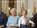 Em torno da rainha, Charles (1º), George (3º) e William (2º) são os sucessores ao trono