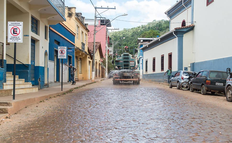 Poeira da Samarco