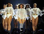 Beyoncé em show de sua turnê em Miami, em abril de 2016