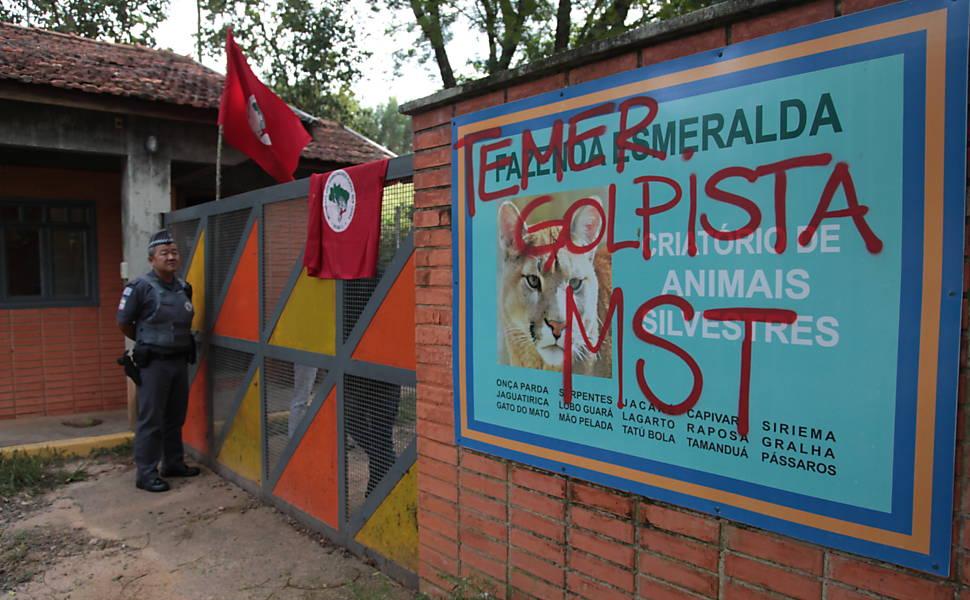 Em 2016, MST invade Fazenda Esmeralda
