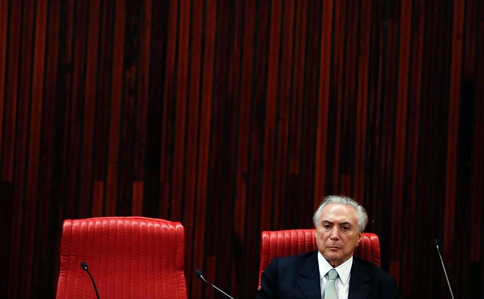 Posse de Michel Temer como presidente interino