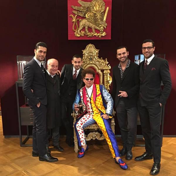 Romero Britto e os famosos